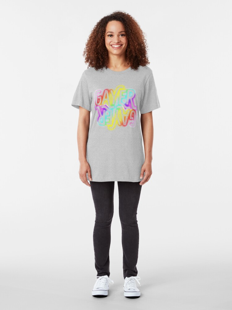 Alternate view of Clearly Gayer Slim Fit T-Shirt
