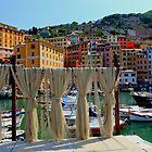 Camogli harbour by annalisa bianchetti