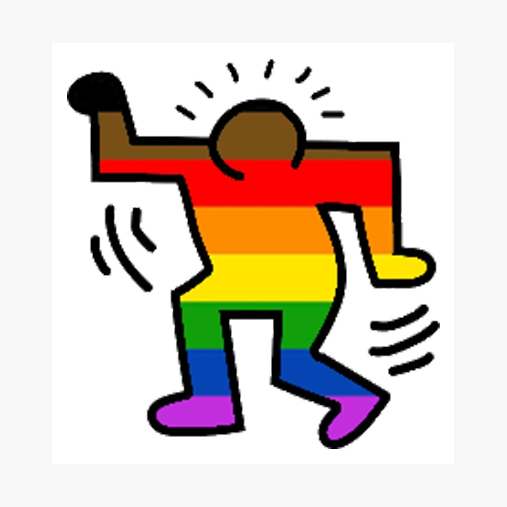 Keith Haring Homosexuell Fotodruck