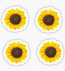 Multiple Sunflowers Sticker