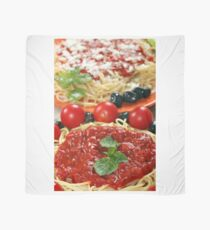 spaghetti with tomatoes and olives Scarf