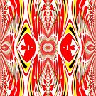 A Colourful Pattern, Created in gimp fractal trace by Dennis Melling