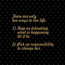 There are only... Life Inspirational Quote (Rect.) by Powerofwordss