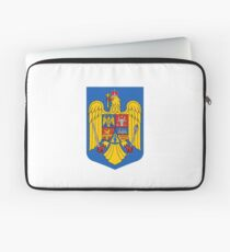 Coat of arms of Romania Laptop Sleeve