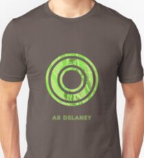 AR Delaney Font Iconic Charactography - O T-Shirt