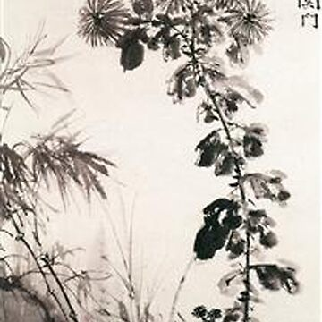 Chrysanthemums and Bamboos, Xu Wei by TOMSREDBUBBLE