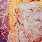 Rock Abstracts of Ormiston Gorge #31 by Lexa Harpell