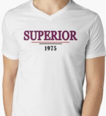 Surerior 1975, Progressive Rock Men's V-Neck T-Shirt