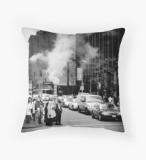 All smoke and mirrors Throw Pillow