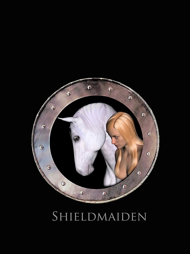 Shieldmaiden by valzart