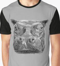 hippo Graphic T-Shirt