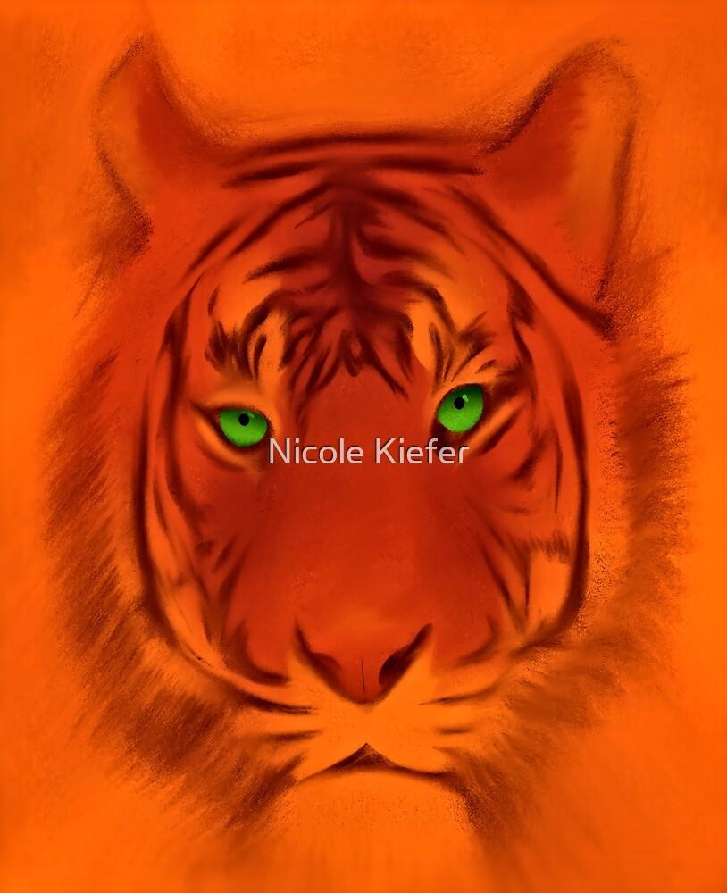 Orange Tiger by Nicole Kiefer