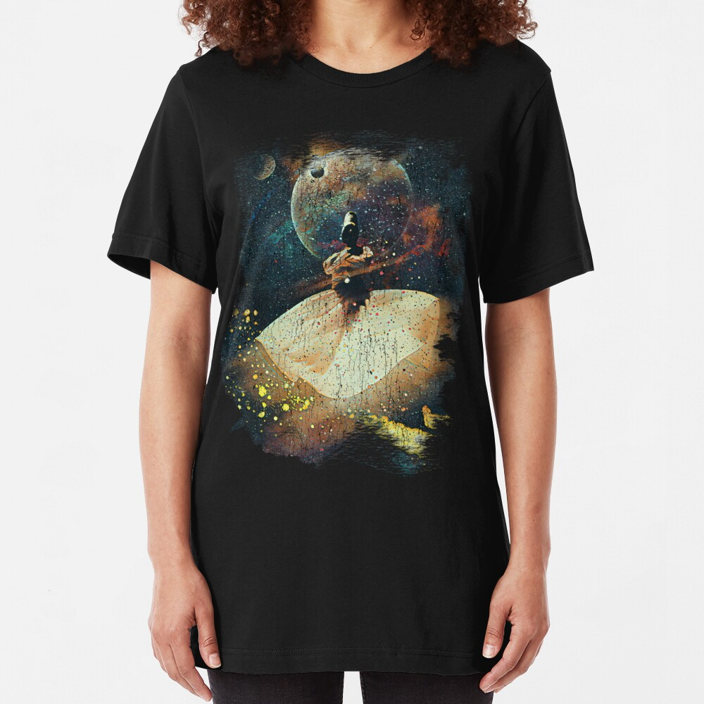Rumi in Space Slim Fit T-Shirt