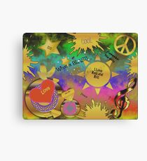 Remember the 60s--What a Blast! Canvas Print