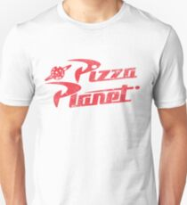 Pizza Planet T-shirt unisexe