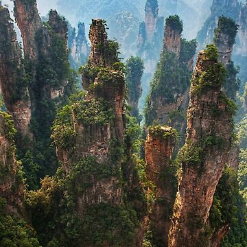 Real Life Avatar Floating Mountains by JTNC
