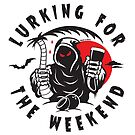 Lurking for the Weekend  by Megan  La Bianca Designs (C)