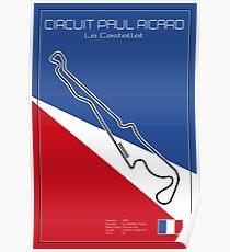 Racetrack Circuit Paul Ricard - Le Castellet Poster