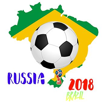 Brazil Team Shirt - 2018 Cup Tournament Competition by Stefanoprince84