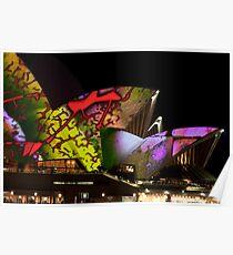 Opera House Illumination 2 Poster