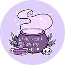 Witch Cauldron // Purple by nikury