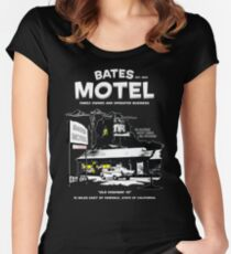 Bates Motel - Open 24 hours Women's Fitted Scoop T-Shirt
