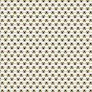Bumblebee Pattern in White by ArtOfSkuba