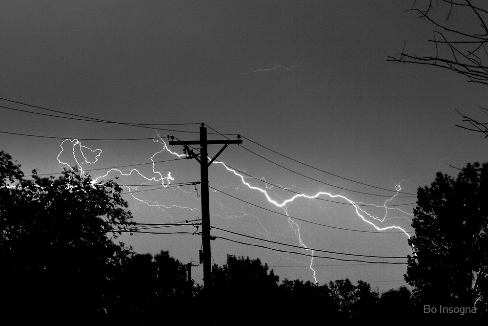 Power Lines by Bo Insogna