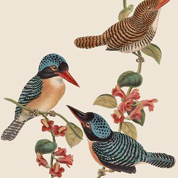 Three Little Birds by FloatingGoat