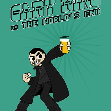 Gary King vs The World's End by byway