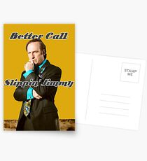 Better Call Slippin Jimmy Postcards