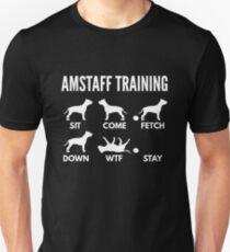 Amstaff Training Staffordshire Tricks Unisex T-Shirt