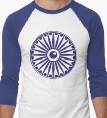 Ashok Chakra, India Men's Baseball ¾ T-Shirt