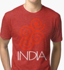 Om, India Tri-blend T-Shirt