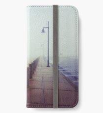 A Foggy Pier iPhone Wallet/Case/Skin