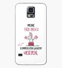 Unicorn Unicorn My fuck you come with all your heart. Case/Skin for Samsung Galaxy