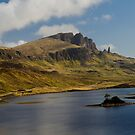 The old man of Storr by Terry Mooney