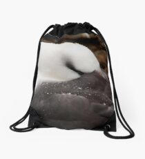 Black browed Albatross Drawstring Bag