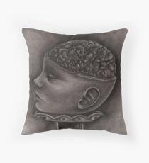 Baby Brain Throw Pillow