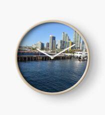 San Diego Bay Boat Landing Clock