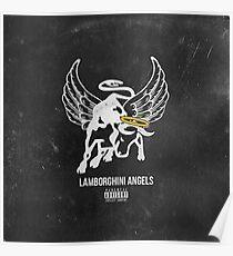 Lupe Fiasco Lamborghini Angels Poster