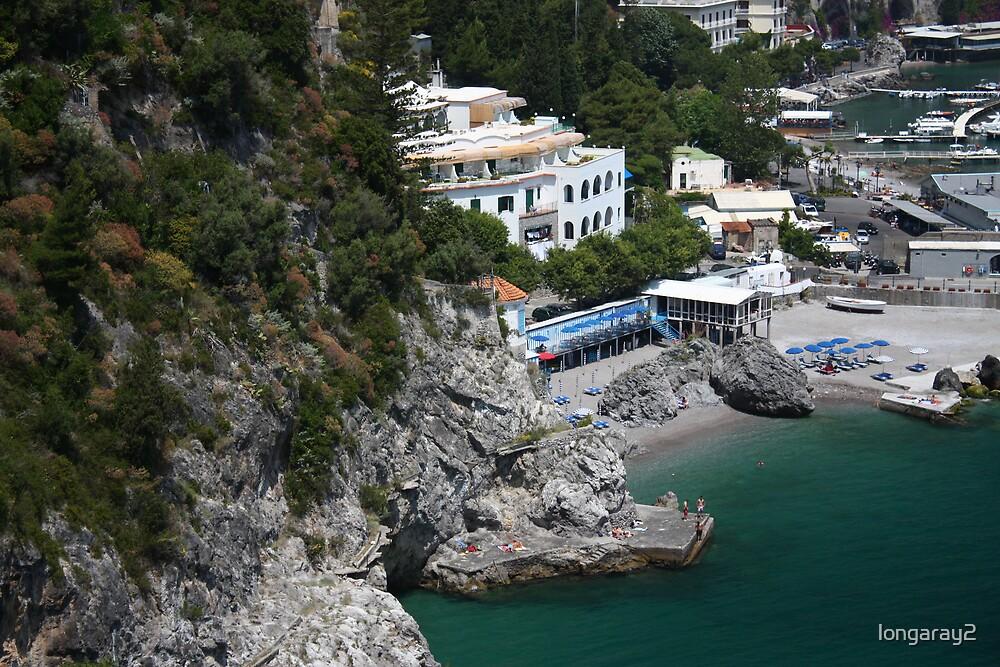 Amalfi Beach View by longaray2