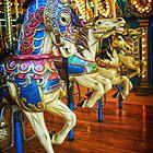 Carousel Horses by Debra Fedchin