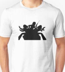 ANGELS BLACK Unisex T-Shirt