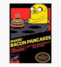 Super Makin' Bacon Pancakes Photographic Print