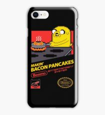 Super Makin' Bacon Pancakes iPhone Case/Skin