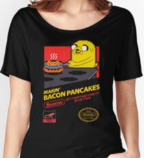 Super Makin' Bacon Pancakes Women's Relaxed Fit T-Shirt
