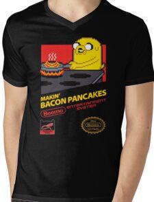 Super Makin' Bacon Pancakes Mens V-Neck T-Shirt
