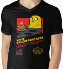 Super Makin' Bacon Pancakes Men's V-Neck T-Shirt