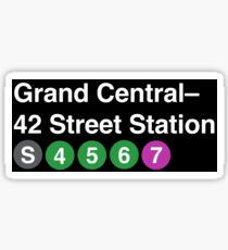 Grand Central Sticker